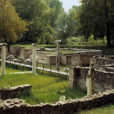 The monuments are under the responsibility of the Ephorate of Antiquities of Pieria, Hellenic Ministry of Culture and Sports/ Archaeological Resources Fund.